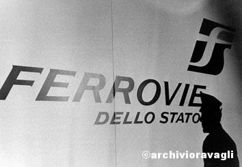 Roma, Dicembre 1994 - Presentazione Alta Velocità Ferrovie dello Stato