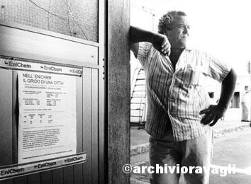 Crotone, Settembre 1993 - Occupazione Enichem