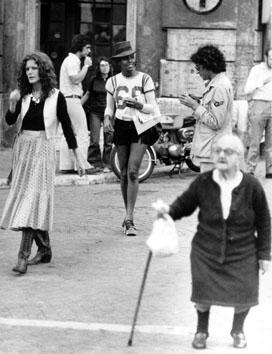 Roma, Maggio 1971 - Moda ieri-oggi