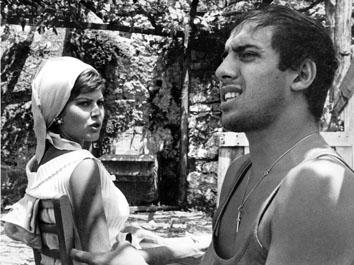Roma, Settembre 1968 - Claudia Mori e Adriano Celentano