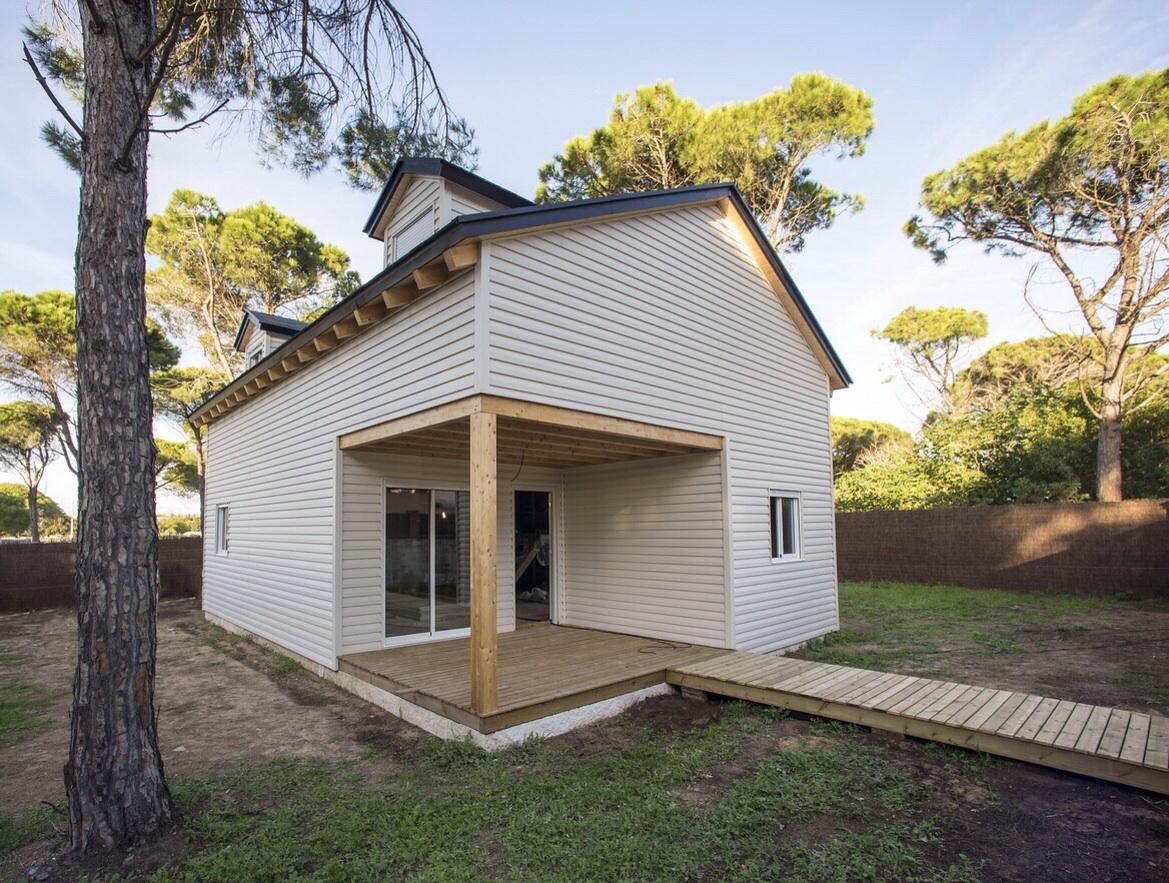 Casas americanas de madera chiclana de la frontera for Casas americanas de madera
