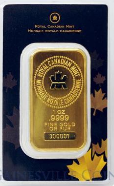 Royal Canadian Mint 31,1 Gramm Goldbarren