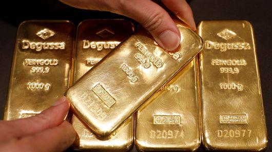 Goldbarren sind die am häufigsten gekaufte Form von physischem Gold.
