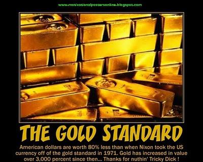 Der US-Dollar verlor 80% an  Wert...Gold gewann 3000%