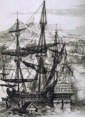 Spanische Silber Galeone (Photo: Wikipedia)