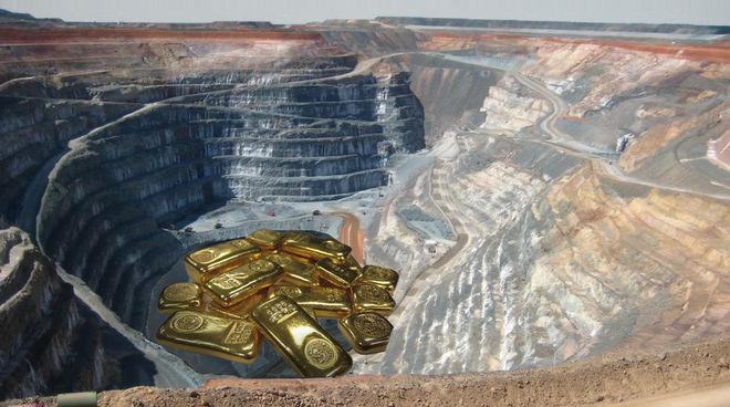 Eine riesige Guyana Goldmine