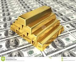 Der sichere Hafen: Gold gegen Dollar