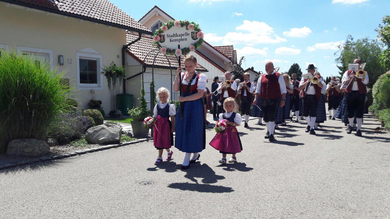 Bezirksmusikfest 2017 in Probstried