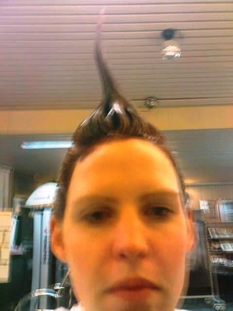 Vor den Ferien noch kurz zum Friseur
