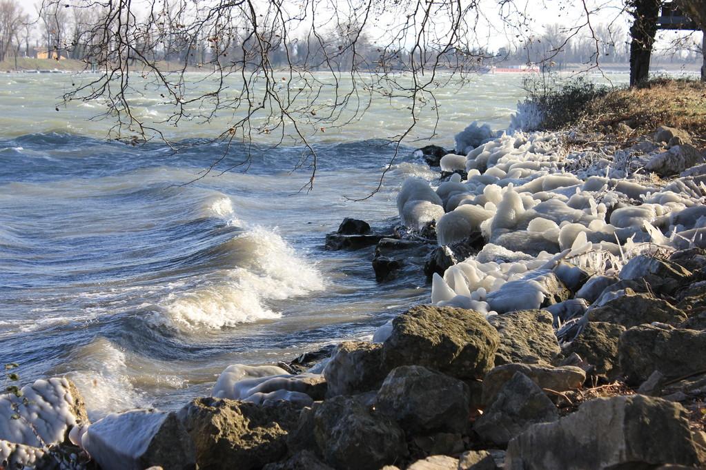 Pont du Robinet - 4 février 2012 - mistral