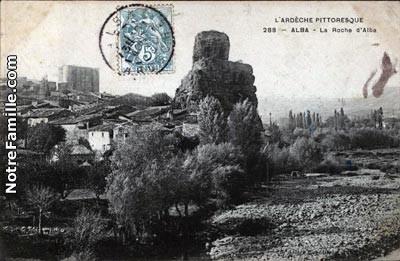 Alba, Rocher de la Roche