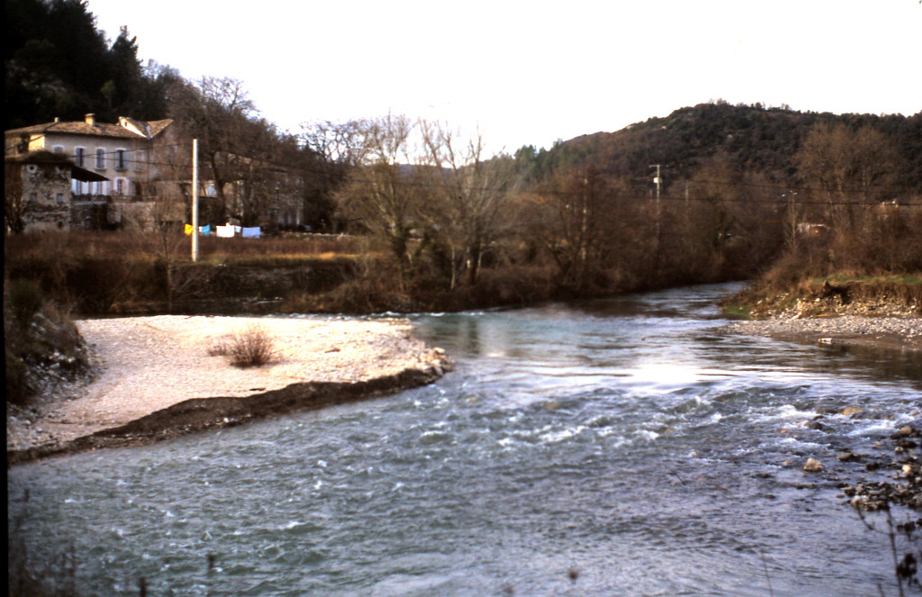 Confluence de la Nègue à Saint Thomé