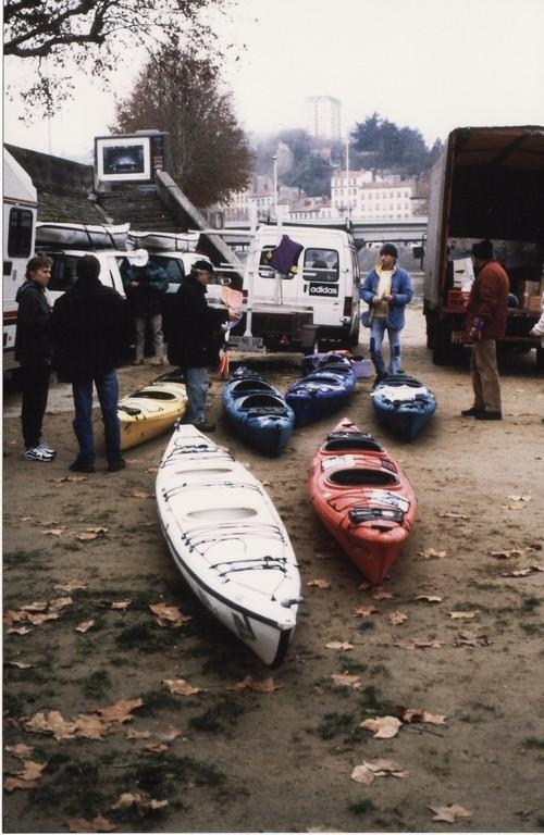 Préparatifs sur les quais de Saône