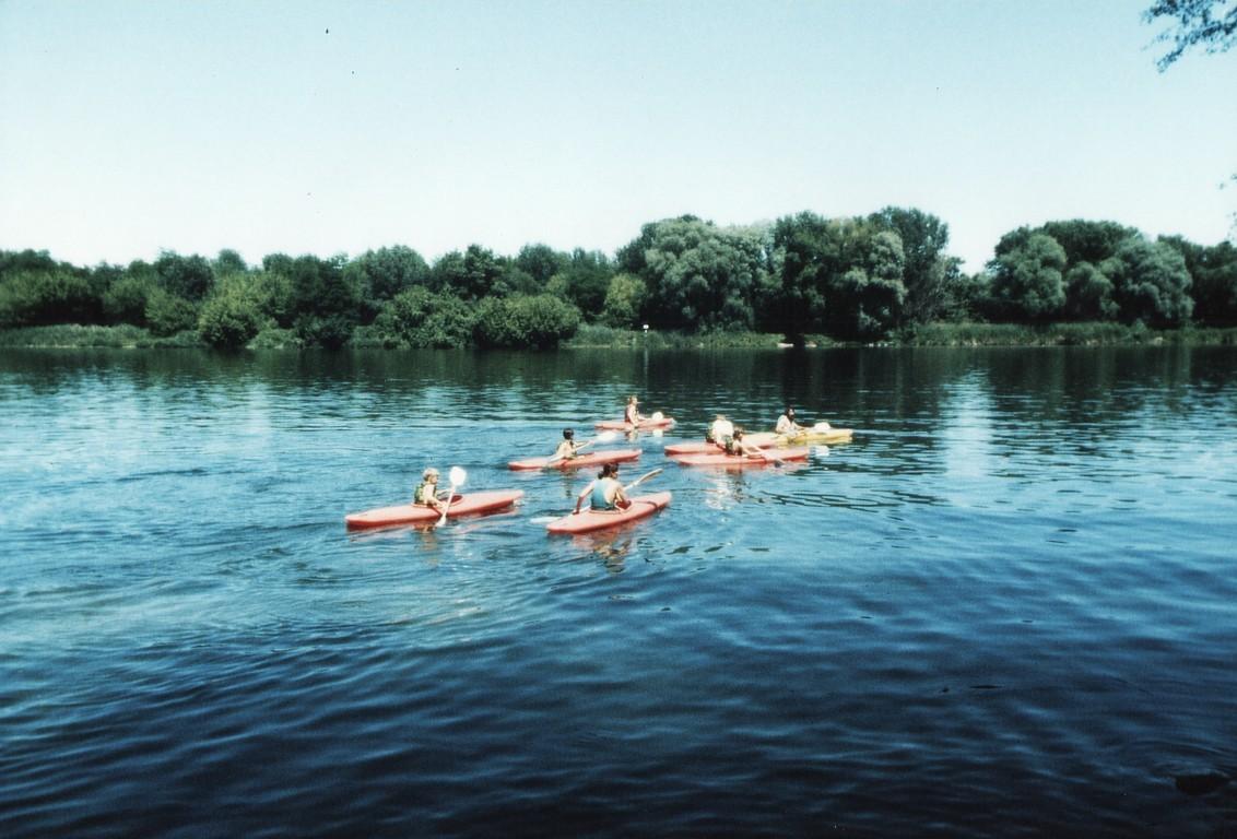 1990 - Sur le Rhône à Viviers