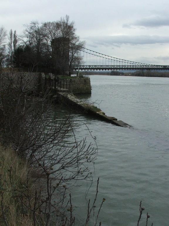 défilé de Donzère , le pont du Robinet