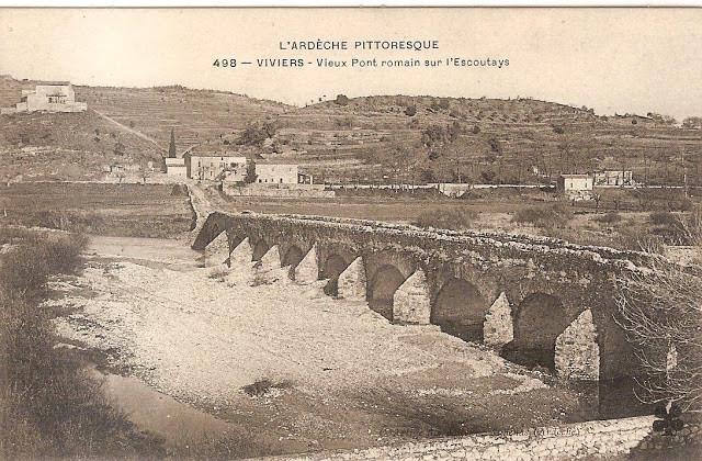 Viviers, Pont romain