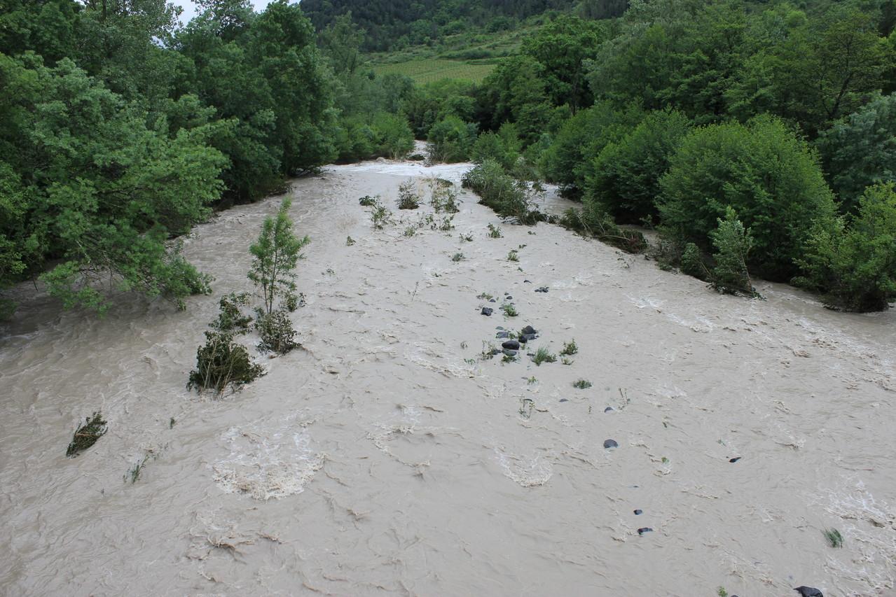 Alba - barrage de La Roche