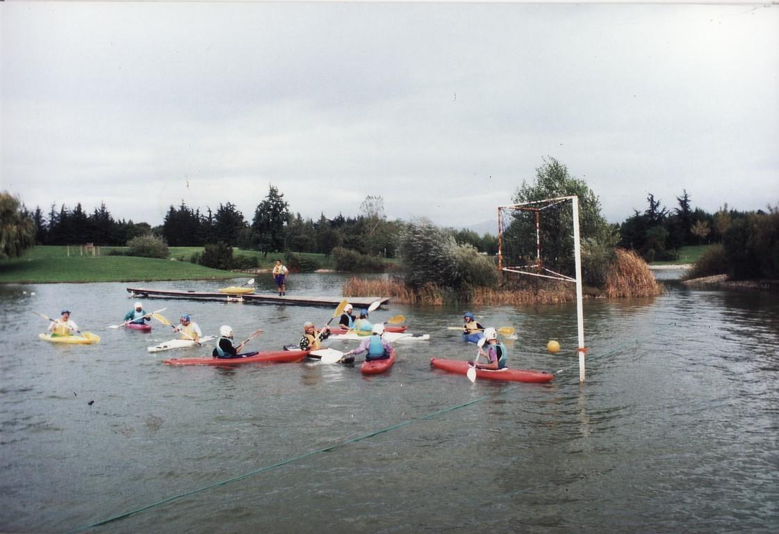 Kayak Polo à Valence
