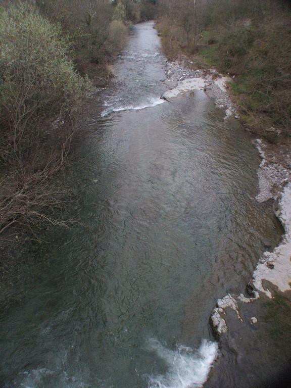 Aval du Pont des Crottes