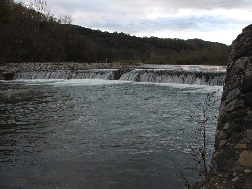 Le barrage du Moulin Nègre, à Viviers