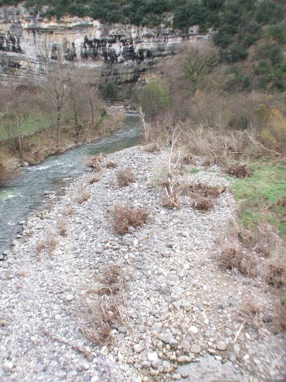 La Falaise du camping du Pont de la Roche