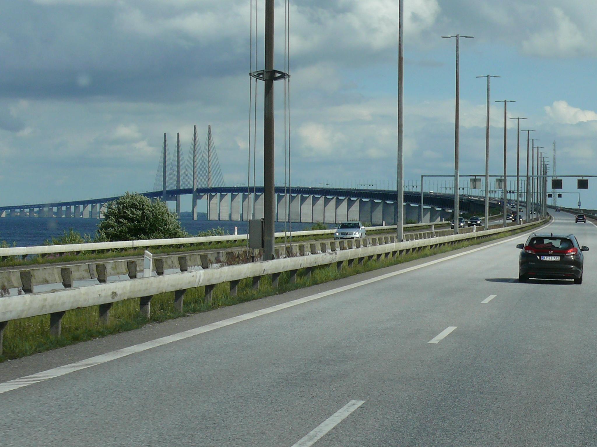 Orsundbrücke Verbindung Dänemark u. Schweden