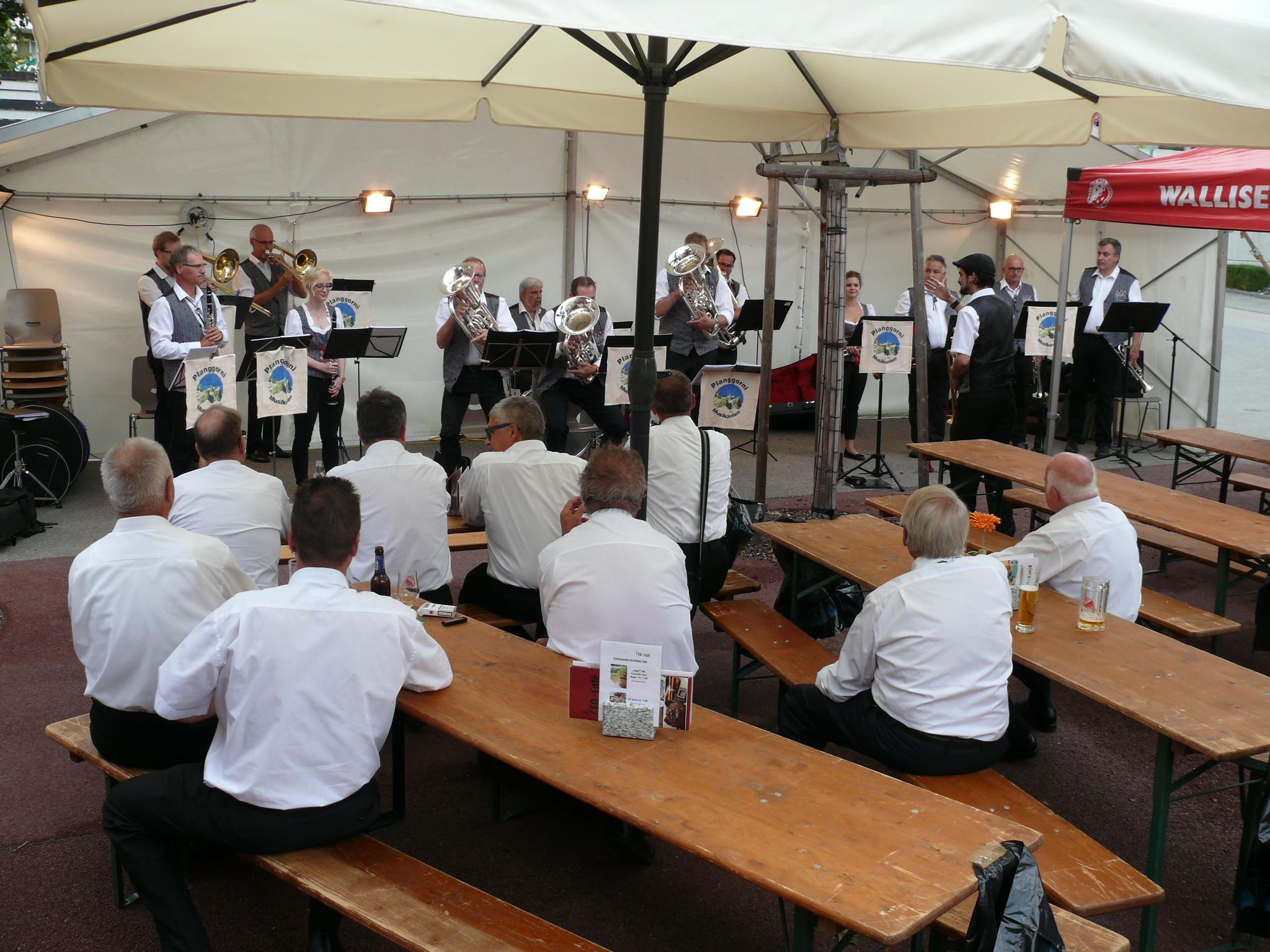 Planggorni Musikanten  Oberwallis
