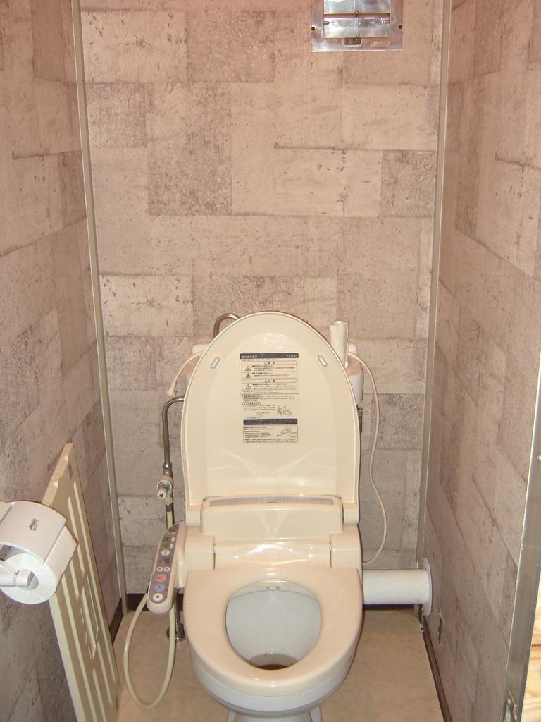同住宅のトイレの様子です。