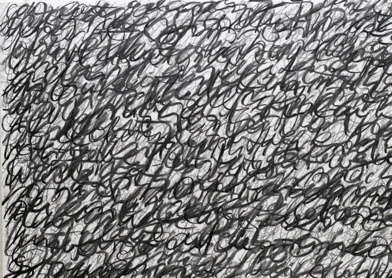 story III - 2015 - Bleistift, Kohle auf Papier - 30 x 42 cm