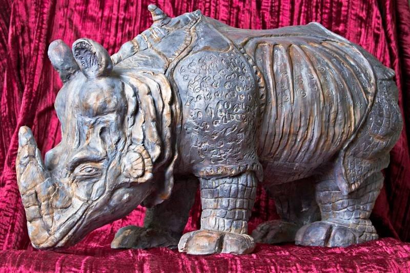 Rhino féroce