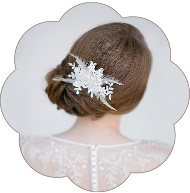 Vintage Fascinator aus Spitze und Federn. Vintage Kopfschmuck in Ivory. Spitzen Haarschmuck. Lace Headpiece wedding. Lace Fascinator for the boho look.
