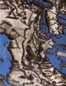 Detalle del mapa elaborado por Henricus Martellus.  © Foto:  Blasting News.