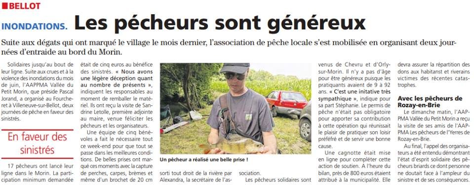 Le Pays Briard 13/07/2017