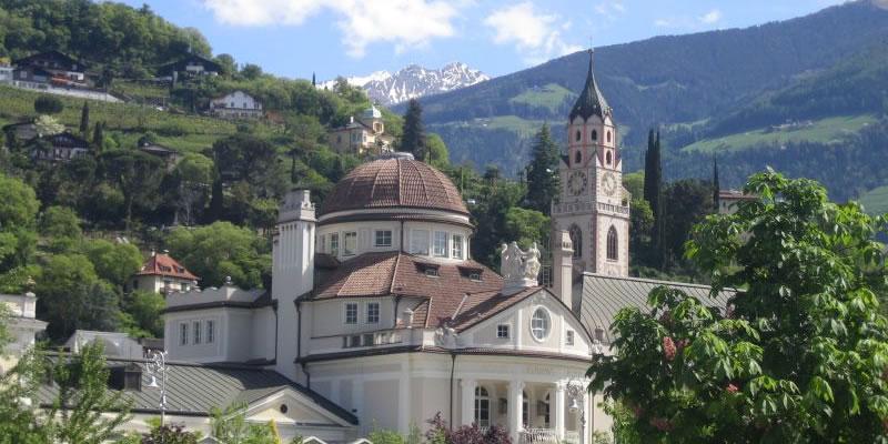 Kurhaus in Meran in Südtirol