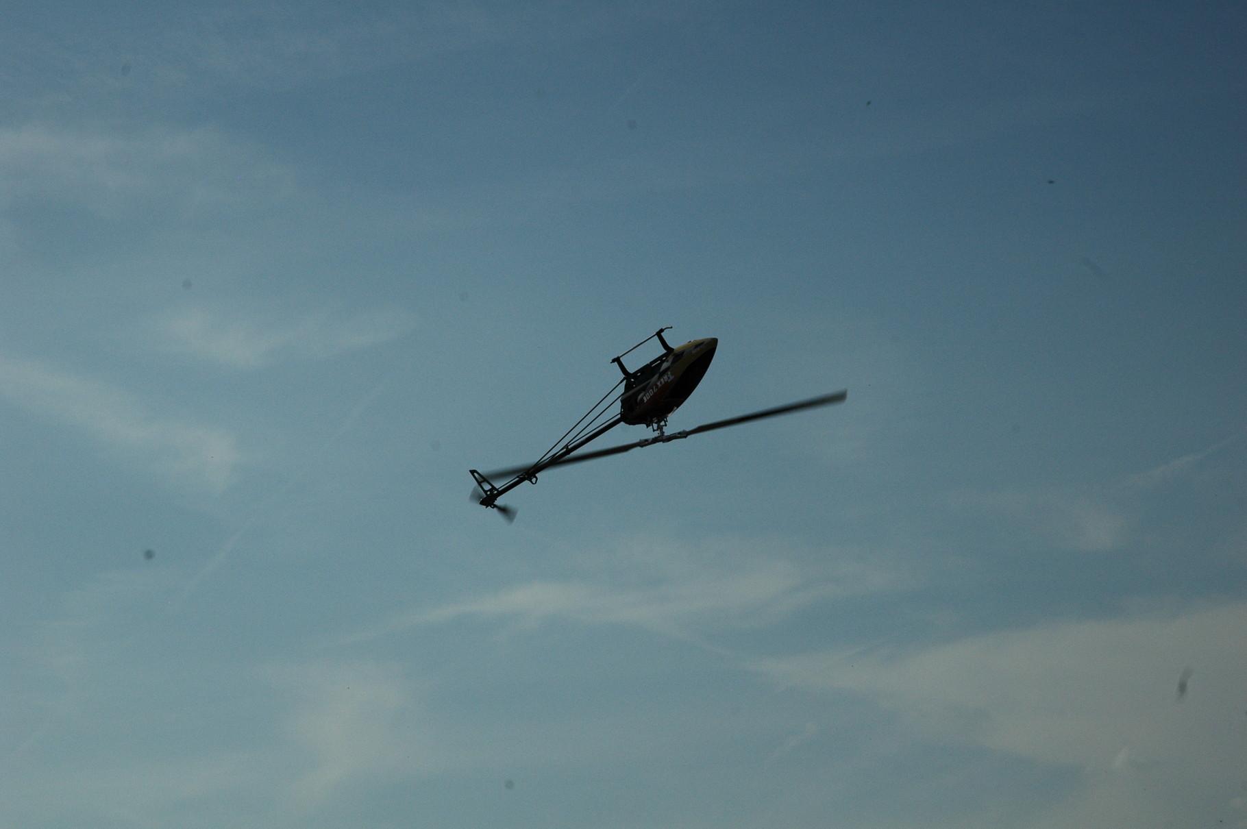 Kopfüberflug Show