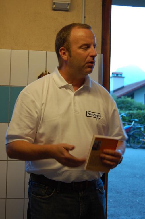 Peter Ottiger stellt Mindjet vor...