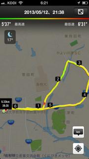 20130512-ジョギングコース松江