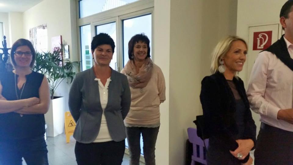 Farbrausexplosion Vernissage Tanja Trenker 2016