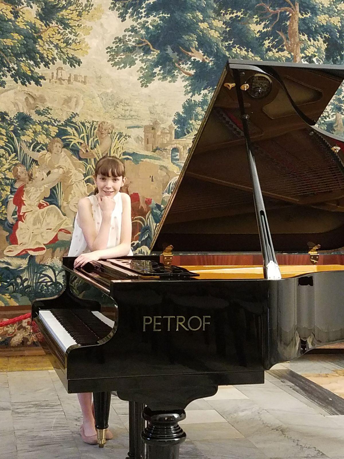ANNA CATERINA BINDA WON THE SPECIAL PRIZE AT THE GIOVANI MUSICISTI COMPETITION IN CASATENOVO - LECCO, ITALY
