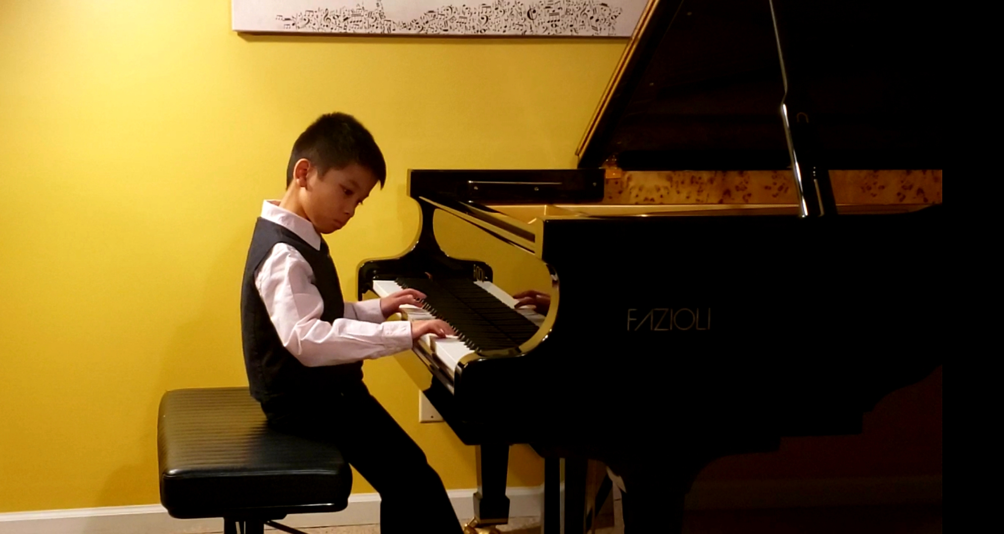 BACH NGUYEN (8 y.o.) WON 1st PRIZE AT THE ELITE MUSIC INTERNATIONAL COMPETITION.  The Winners' Recital will be held in March 2020 at Weill Recital Hall at Carnegie Hall in New York!