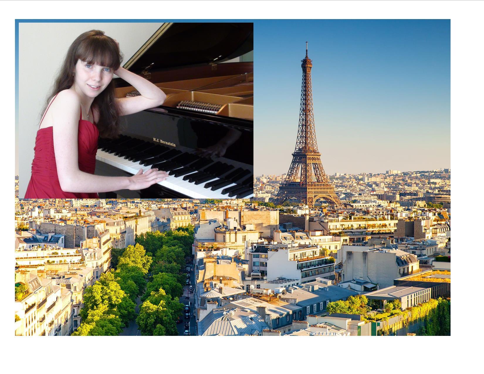 ANNA CATERINA BINDA IN PARIS!                                                                                                               February 19, 2020, Auditorium du Petit Palais (Musée des Beaux-Arts de Paris)