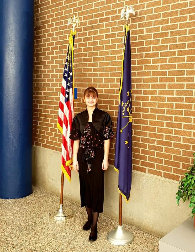 ELISA PLANO GOLD MEDAL AT ISSMA COMPETITION, INDIANA STATE PIANO FINALS!