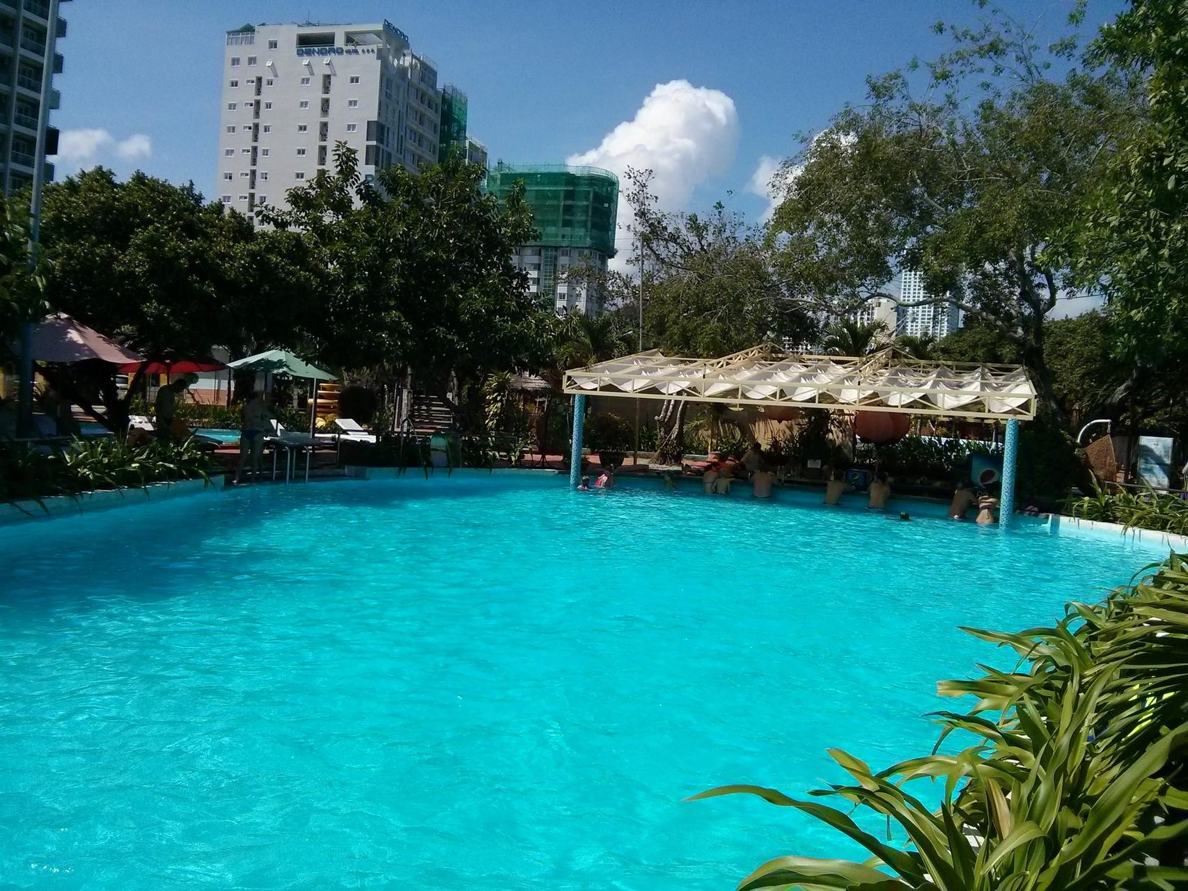 Nha Trang Central Park pool
