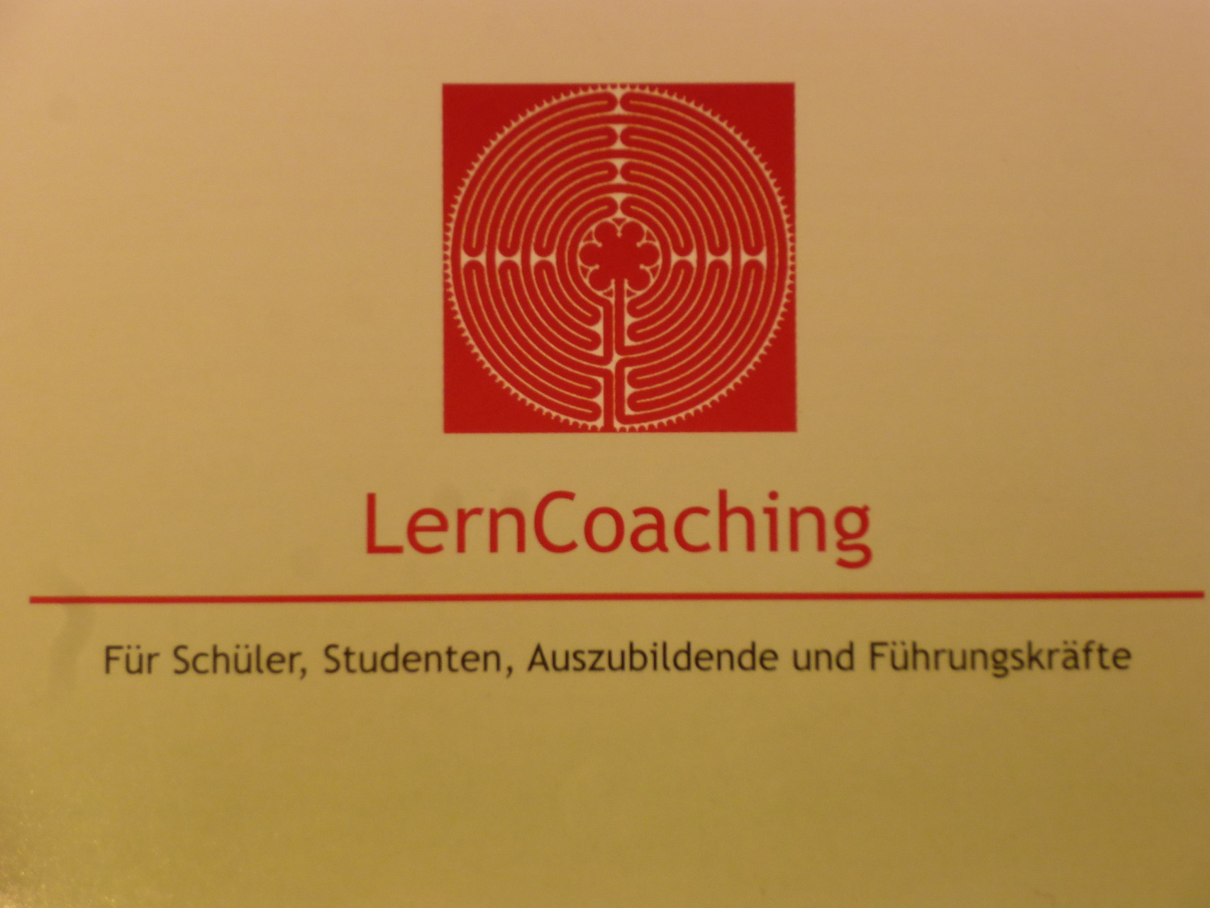 Flyer LernCoaching!