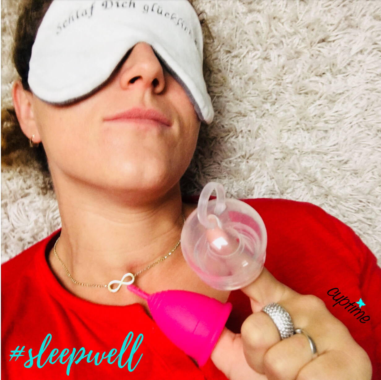 Schlaf Projekte Lenz Schlafbrille mit Lunette und FemmyCycle