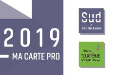 carte partenaire 2019 -Sud Val de Loire