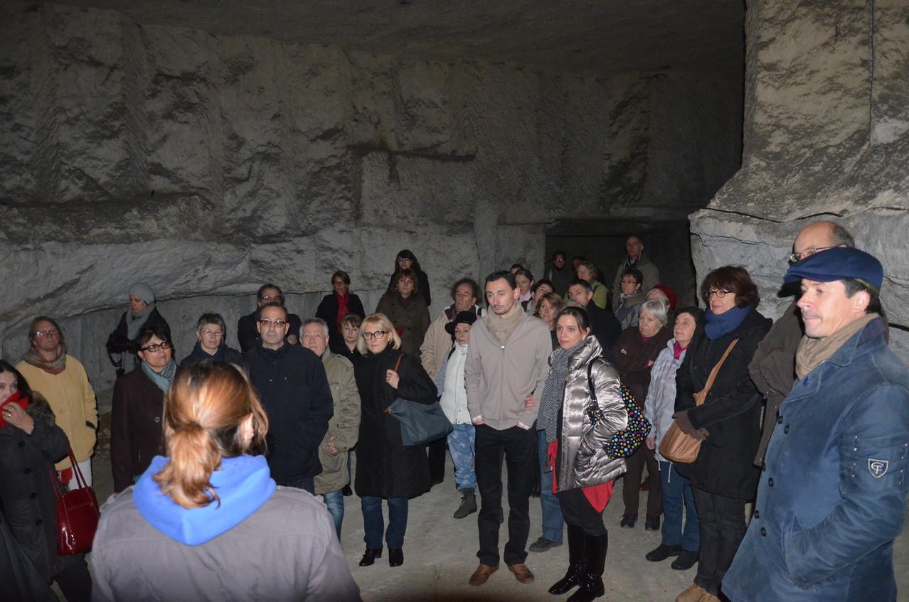 Visite guidée de la Cave Champignonnière des Roches à Bourré