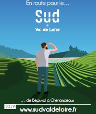 Visualiser la carte touristique Sud Val de Loire