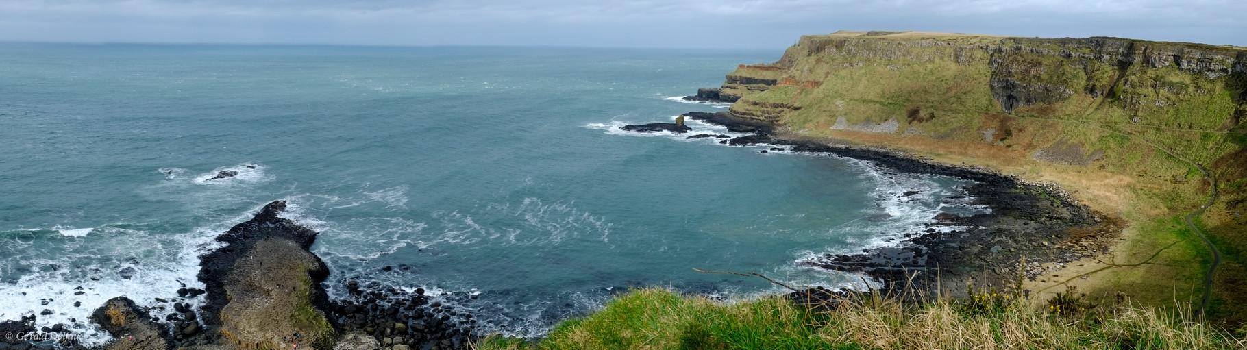 Irlande du Nord, chaussée des Géants (Giant's Causeway), côte d'Antrim