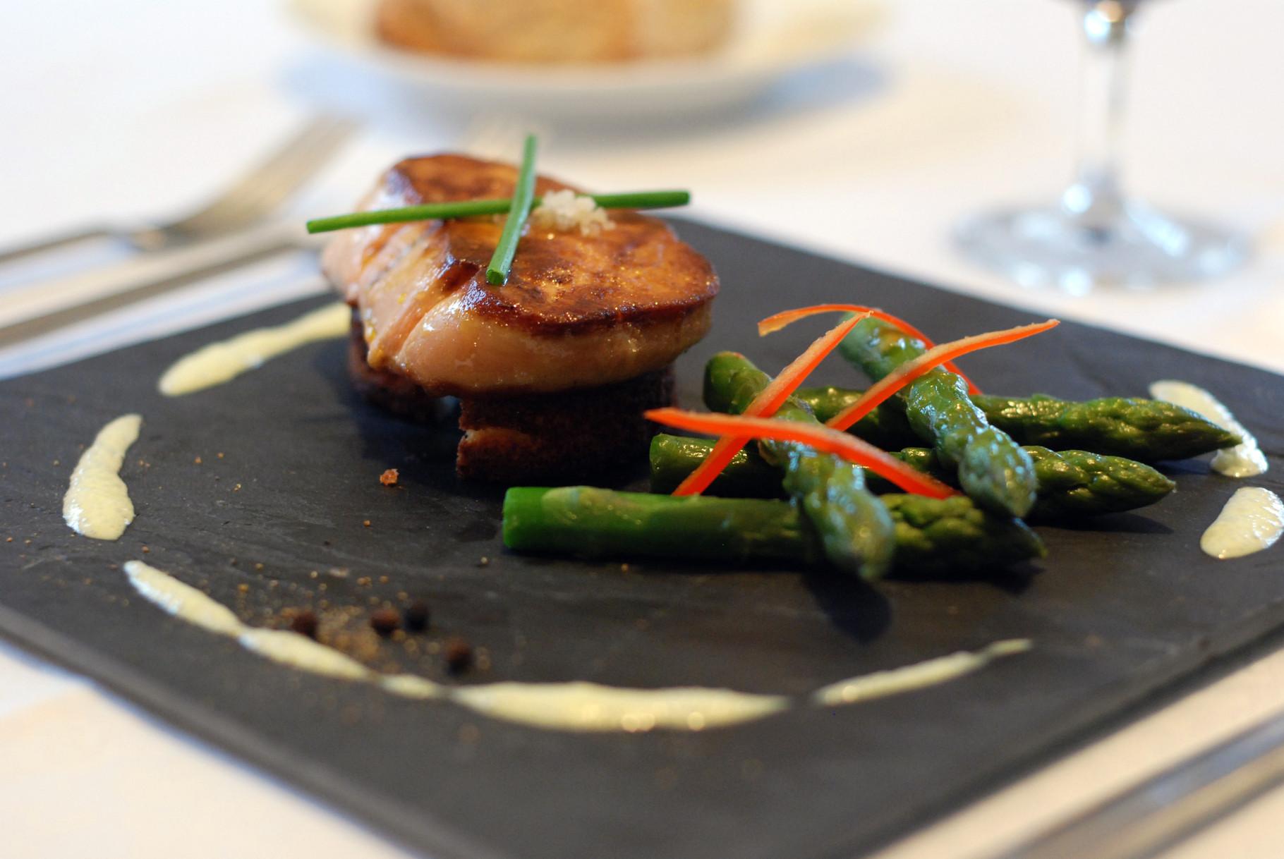 poêlé de foie gras